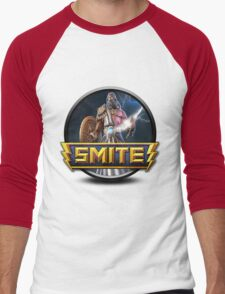 Smite Zeus Logo Men's Baseball ¾ T-Shirt