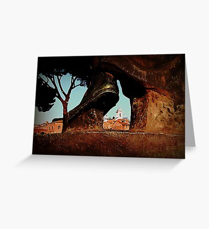 Seeing Rome Wearing Italian Shoes Greeting Card