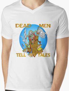 Dead Men Tell No Tales Mens V-Neck T-Shirt