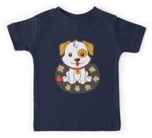 I Love Mom and Dad (Chinese T-shirt) Kids Tee