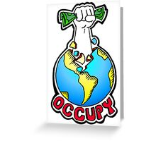 Occupy the World Greeting Card