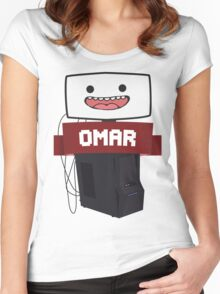 Omar :D Women's Fitted Scoop T-Shirt