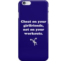 No Cheating iPhone Case/Skin