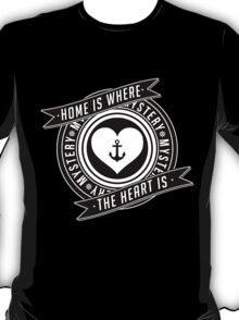 Home is Where the Heart is.  T-Shirt