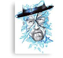 Crystal Walt Canvas Print