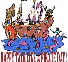 Happy Talk Like A Pirate Day by Skree