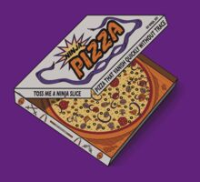 Ninja Pizza - Purple by BanzaiDesigns