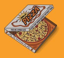 Ninja Pizza - Orange by BanzaiDesigns