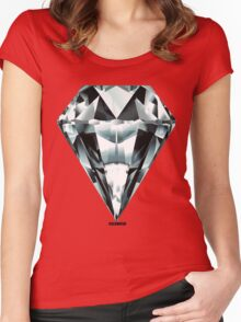 BLOOD DIAMOND Women's Fitted Scoop T-Shirt
