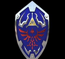 Zelda Hylian Shield Hard Case Cover For Iphone by guanshop