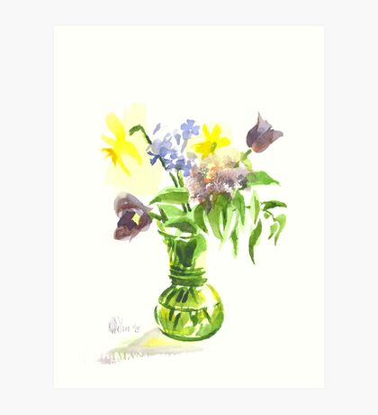 Spring Bouquet Art Print