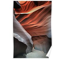Abstract In Sand Poster