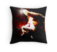 Star Kitty Throw Pillow