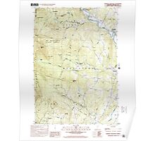 USGS Topo Map  Vermont VT Sterling Mountain 337665 1998 24000 Poster