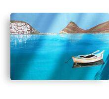 A Greek Island Canvas Print