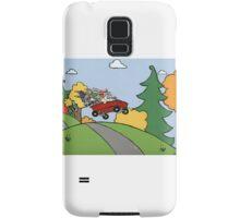 Awesome Bunny Wagon Ride Samsung Galaxy Case/Skin