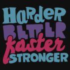 Harder, Better, Faster, Stronger by suburbia