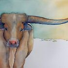 """LONESTAR LONGHORN"" at Dawn by ShireenJackson"