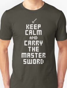 Keep Calm and Carry The Master Sword T-Shirt