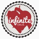 Infinite Heart (Sticker) by pinkbook