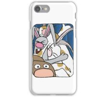 Awesome Bunny Photobooth #2 of 4 iPhone Case/Skin