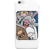 Awesome Bunny Photobooth #1 of 4 iPhone Case/Skin