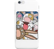 Awesome Bunny Photobooth #3 of 4 iPhone Case/Skin