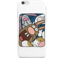 Awesome Bunny Photobooth #4 of 4 iPhone Case/Skin