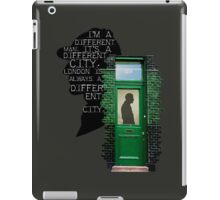 two hundred and twenty one B Baker Street iPad Case/Skin