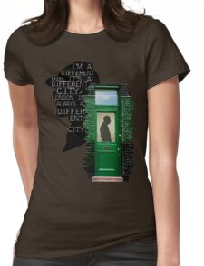 two hundred and twenty one B Baker Street Womens Fitted T-Shirt