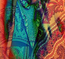 3795 Paisley Abstract by AnkhaDesh