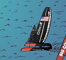 When Oracle Team USA defended their America's Cup by Binary-Options