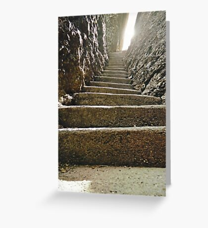 Stairway to Utopia Greeting Card