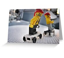 Pirate Practice: Skateboarding Greeting Card
