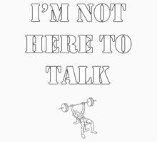 No Talking. Kids Clothes