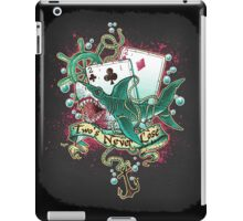 Poker Shark (black)  iPad Case/Skin