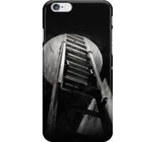 Ladder in Abandoned Tunnel iPhone Case/Skin