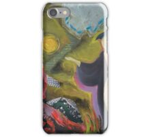 LANDSCAPE OF AUDITORY HALLUCINATIONS iPhone Case/Skin