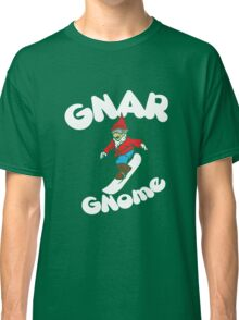 Gnome Snowboarder Classic T-Shirt