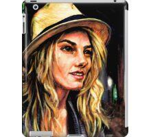 Girl in a Straw Hat iPad Case/Skin