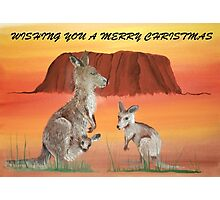 ULURU CHRISTMAS Photographic Print