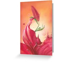 The Lily  - Greeting Cards & Postcards Greeting Card