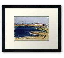 Industrial Shed- Corio Bay Framed Print
