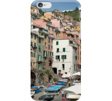 Boats In The Street iPhone Case/Skin