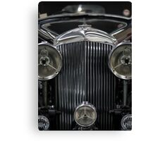 The Age of Beautiful Cars and Ugly Empires, In Memoriam Canvas Print