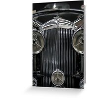 The Age of Beautiful Cars and Ugly Empires, In Memoriam Greeting Card