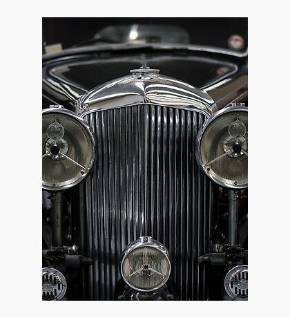 The Age of Beautiful Cars and Ugly Empires, In Memoriam Photographic Print