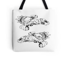 serenity firefly coming and going Tote Bag