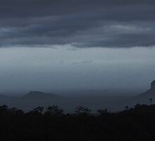 Glasshouse Mountains II by Digby