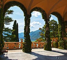 Arches Of Balbianello  by Adrian Alford Photography
